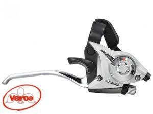 Шифтер/тормоз Shimano Altus ST-EF51 3 ск трос + кожуж 1800 мм серебро Н