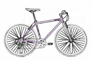 Велосипеды туристические и гибриды