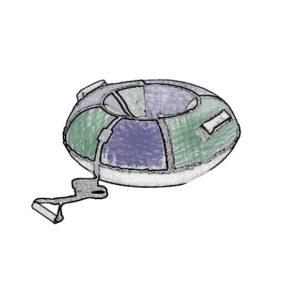 Тюбинги (ватрушки)