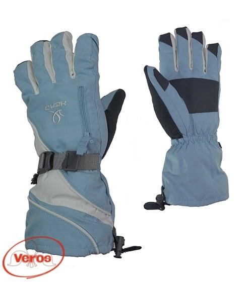 Перчатки г/лыжные Head (L) голубой/белый