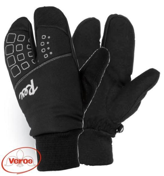 Перчатки лыжные REX Lobster (XL) черный