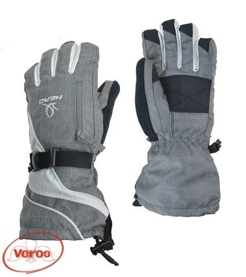 Перчатки г/лыжные Head (S) серый/белый