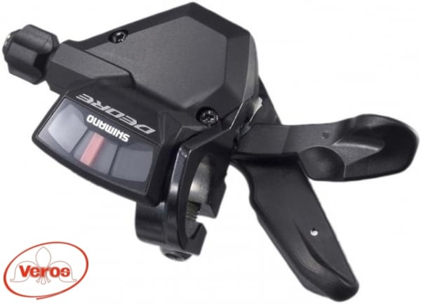 Шифтер Shimano Deore M590 9 ск трос 2050 мм черный Н