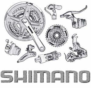 Велозапчасти Shimano (под заказ)