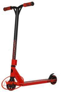 Самокат PLANK Triton Al колеса 100 мм красный/черный