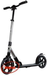 Самокат PLANK Voyager Al складной колеса 230 мм серебро
