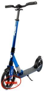 Самокат PLANK Voyager Al складной колеса 230 мм синий